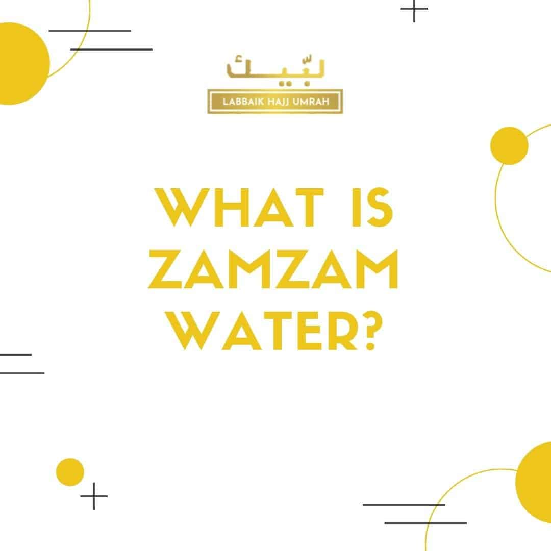 What is Zamzam water