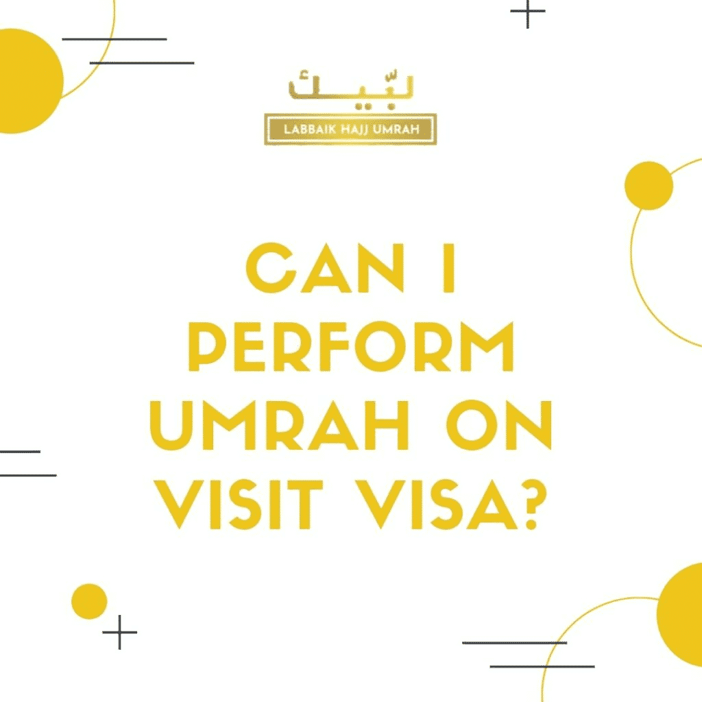 Umrah on visit visa