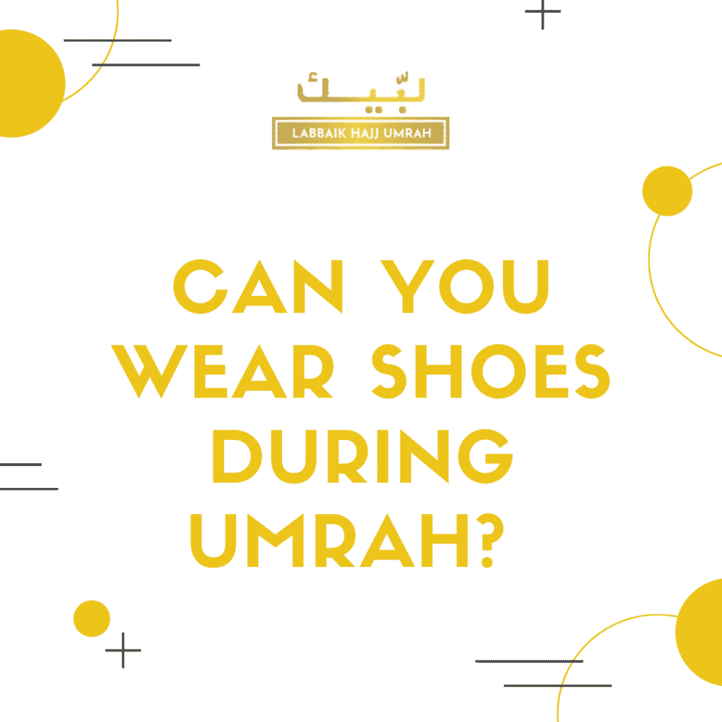 Shoes for Umrah