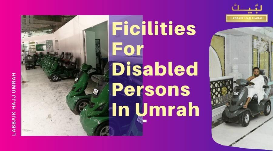 How can people with disabilities perform Umrah