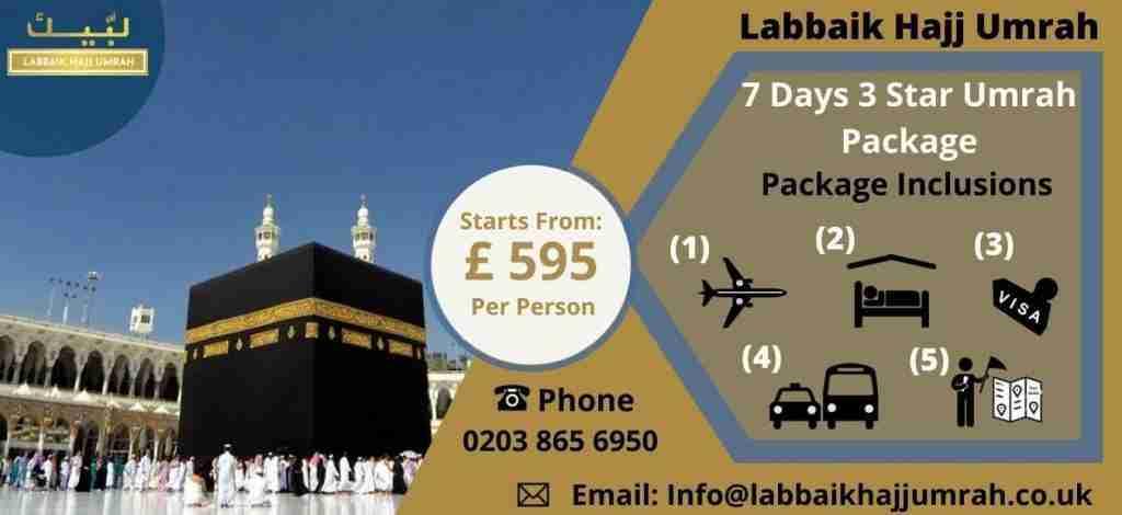 Economy Umrah Package