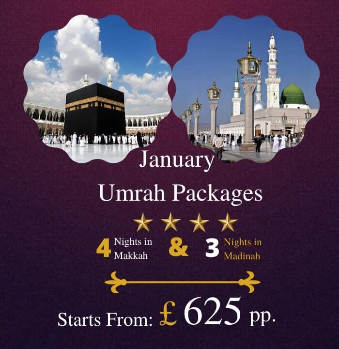 January Umrah Packages