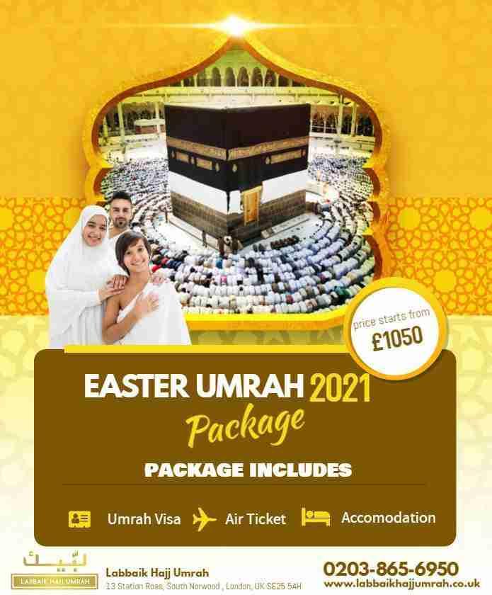 Easter Umrah Package