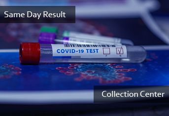 PCR Same Day Result (Collection Center)